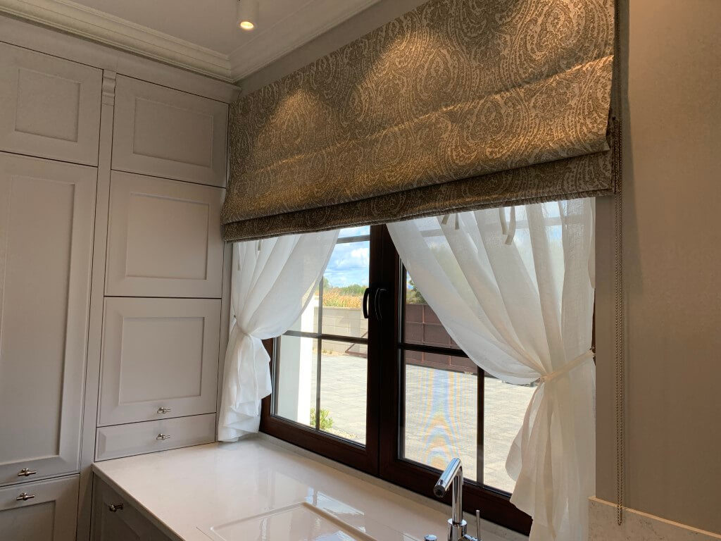 Dekoracja okna wkuchni